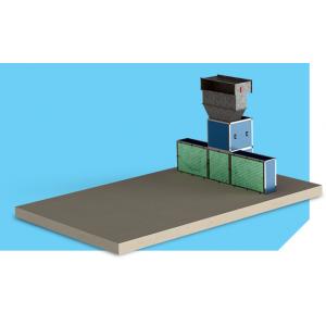 """Малярный пост предварительной подготовки для автосервиса, модель без потолка """"APP-L-FF"""", размер 6Х3,5Х2,6м"""
