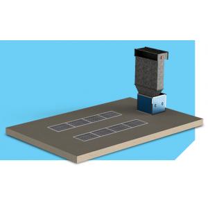 """Малярный пост предварительной подготовки для автосервиса, модель без потолка с двухрядными решетками """"APP-L-S"""", размер 6Х3,5Х2,6м"""