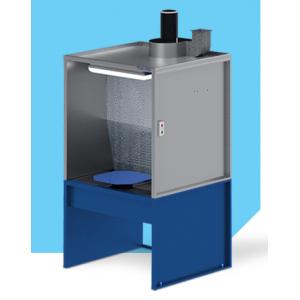 """Покрасочный вытяжной шкаф с гидроэкраном (водяной фильтр), рабочая зона покраски 1мХ1м, модель """"AS-HYDRO-1"""""""
