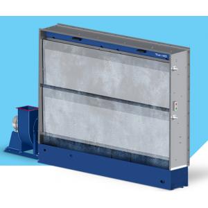 """Покрасочный вытяжной шкаф с гидроэкраном (водяной фильтр), рабочая зона покраски 2,5мХ2,3м, модель """"AS-HYDRO-2,5"""""""