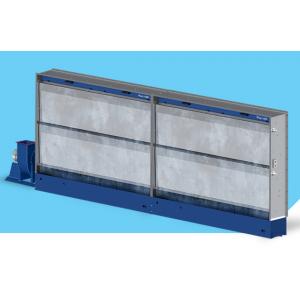 """Покрасочный вытяжной шкаф с гидроэкраном (водяной фильтр), рабочая зона покраски 2мХ2,3м, модель """"AS-HYDRO-4"""""""