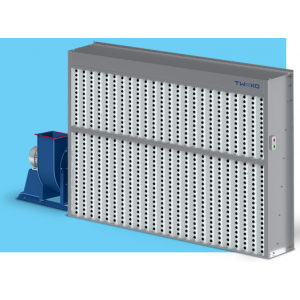 """Покрасочный вытяжной шкаф сухой фильтрации без боковин, рабочая зона покраски 2,5мХ1,8м, модель """"ASS-COMPACT-2,5"""""""