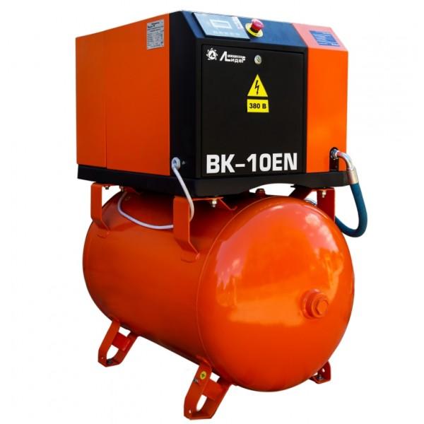 Винтовой компрессор ВК 10ЕN-500Д, ресивер 500л, производительность до 1,4m3/min, 7,5кВт. С осушителем воздуха.