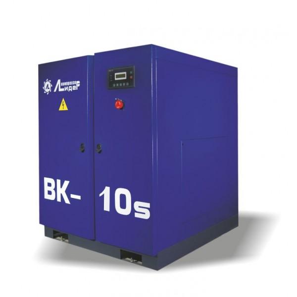 Винтовой компрессор ВК 10s, производительность до 1,4m3/min, 7,5кВт. Ременной привод.