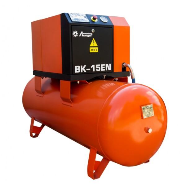 Винтовой компрессор ВК 15ЕN-500Д, ресивер 500л, производительность до 1.8m3/min, 11кВт. С осушителем воздуха.