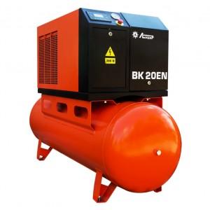 Винтовой компрессор ВК 20ЕN-500, ресивер 500л, производительность до 2.6m3/min, 15кВт., без осушителя воздуха.