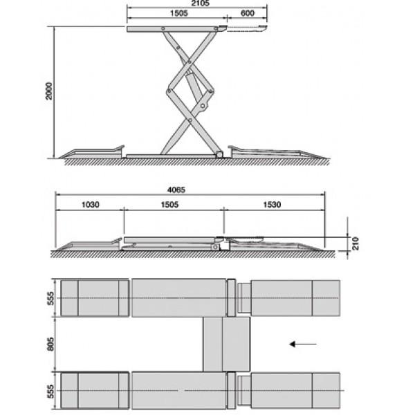 Подъемник IPPO 36