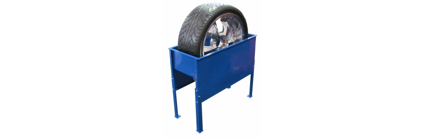 Ванна проверки колес