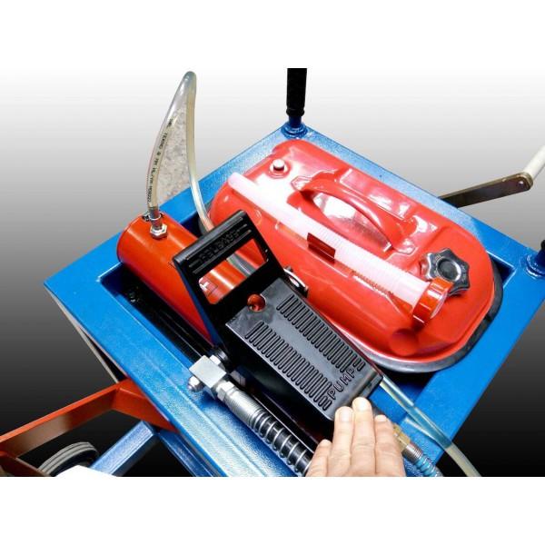 Устройство выпресовки шкворней, с тележкой и пневмогидравликой. ПШ-100. Усилие 100т