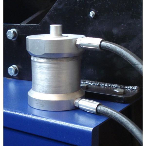 Дископравильный станок электрогидравлический с резцом и электроприводом вала - Lotus VS 4/3