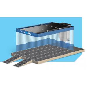 """Малярный пост предварительной подготовки для автосервиса, модель с потолком, шторками, полнорешедчатым полом и пленумом """"APP-S-40-P"""", размер 6Х4Х2,6м"""