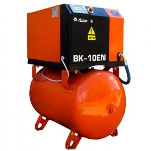 Винтовой компрессор ВК 10ЕN-270, рессивер 270л, производительность до 1,4m3/min, 7,5кВт. Без осушителя воздуха.