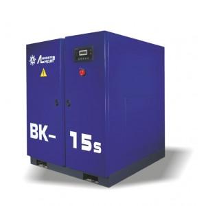 Винтовой компрессор ВК 15s, производительность до 1,8m3/min, 11кВт. Ременной привод.