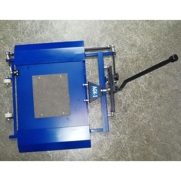 Подкатной механический стенд диагностики люфтов подвески автомобиля. Люфтдетектор AGK-1