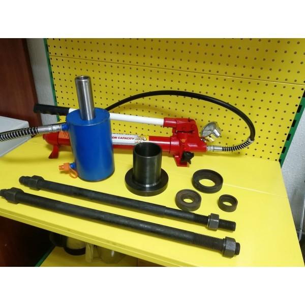 Универсальное устройство выпресовки (запресовывания) втулок экскаваторов и каръерной техники. Lotus VS ПВ-40. Усилие 40т