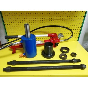 Универсальное устройство выпресовки (запресовывания) втулок, пальцев и сайлентблоков. Lotus VS ПС-40. Усилие 40т