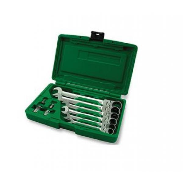 GAAI1003  Набор ключей комбинированных с трещоткой и шарниром 8-19мм